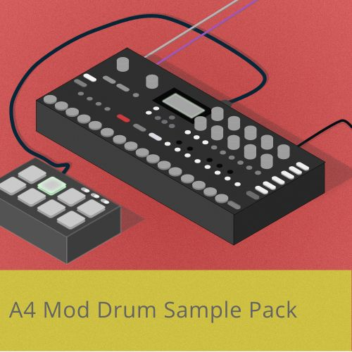 A4 Mod Drum Sample pack
